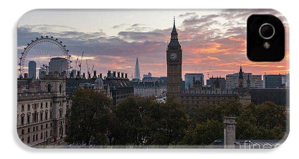 Big Ben London Sunrise IPhone 4 Case by Mike Reid