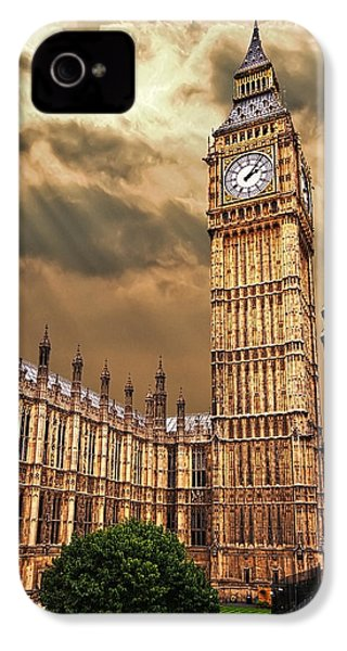 Big Ben's House IPhone 4 / 4s Case by Meirion Matthias