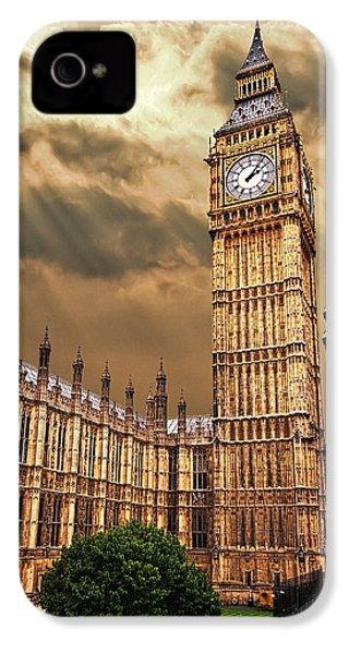 Big Ben's House IPhone 4 / 4s Case by Meirion Matthias