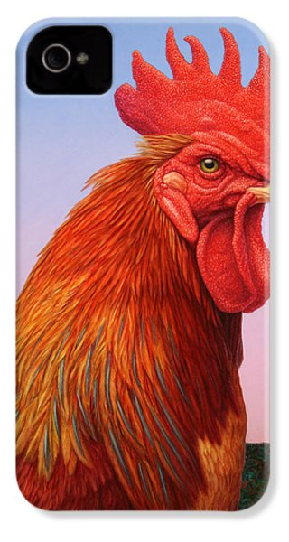 Big Red Rooster IPhone 4 Case