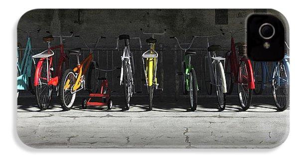 Bike Rack IPhone 4 Case