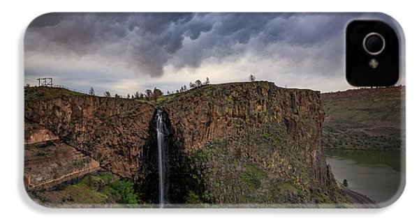 Billy Chinook Falls IPhone 4 Case by Cat Connor