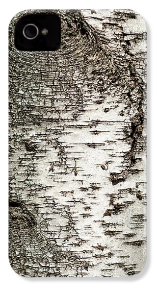 IPhone 4 Case featuring the photograph Birch Tree Bark by Christina Rollo