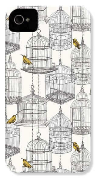 Birdcages IPhone 4 / 4s Case by Stephanie Davies