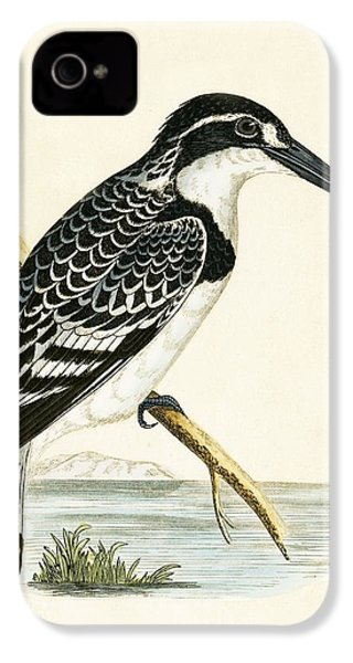 Black And White Kingfisher IPhone 4 Case