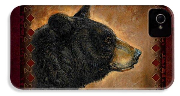 Black Bear Lodge IPhone 4 Case