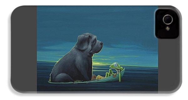 Black Dog IPhone 4 / 4s Case by Jasper Oostland