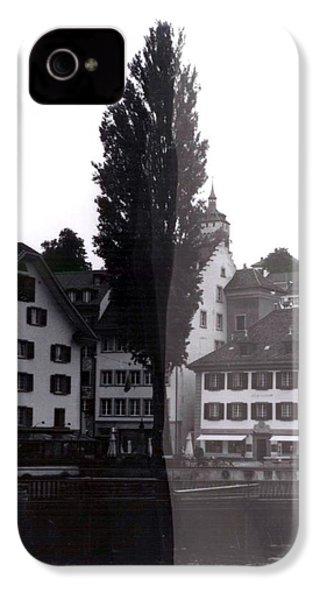 Black Lucerne IPhone 4 Case by Christian Eberli