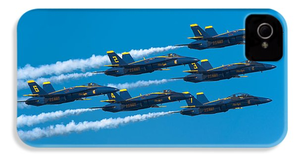 Blue Angels IPhone 4 Case by Sebastian Musial