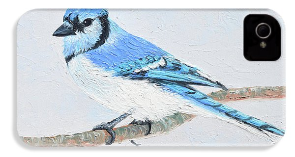 Blue Jay IPhone 4 Case