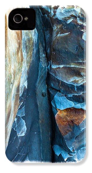 blue Pattern 2 IPhone 4 Case by Jonathan Nguyen