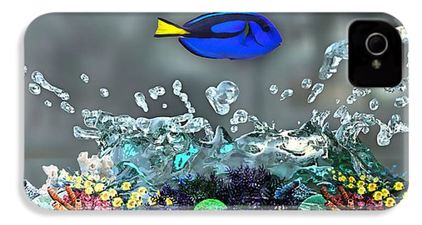 Blue Tang Collection IPhone 4 / 4s Case by Marvin Blaine