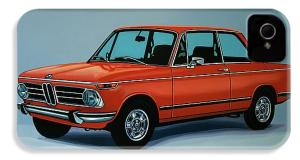 Bmw 2002 1968 Painting IPhone 4 Case by Paul Meijering