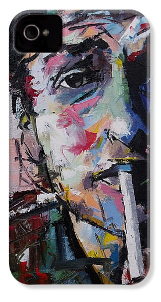 Bob Dylan IPhone 4 Case by Richard Day
