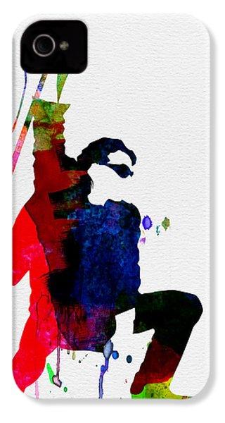 Bono Watercolor IPhone 4 Case
