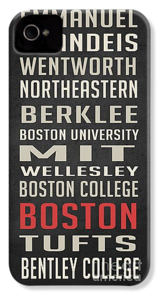 Boston Collegetown IPhone 4 Case