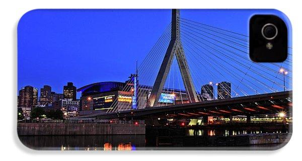 Boston Garden And Zakim Bridge IPhone 4 Case by Rick Berk