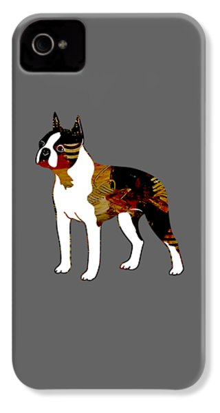 Boston Terrier Collection IPhone 4 Case