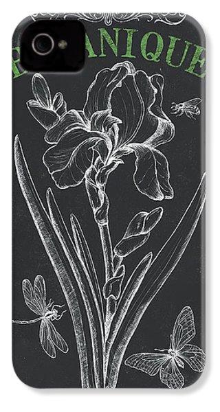 Botanique 1 IPhone 4 Case by Debbie DeWitt