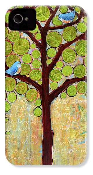 Boughs In Leaf Tree IPhone 4 Case