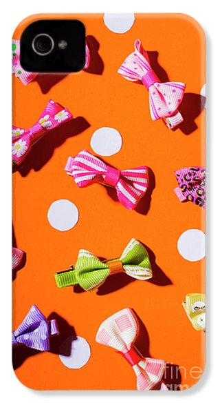 IPhone 4 Case featuring the photograph Bow Tie Party by Jorgo Photography - Wall Art Gallery