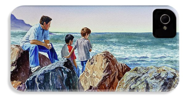 Boys And The Ocean IPhone 4 Case