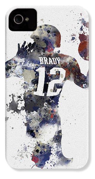 Brady IPhone 4 Case by Rebecca Jenkins