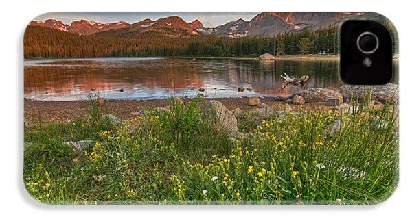 Brainard Lake IPhone 4 Case by Gary Lengyel