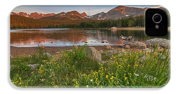IPhone 4 Case featuring the photograph Brainard Lake by Gary Lengyel