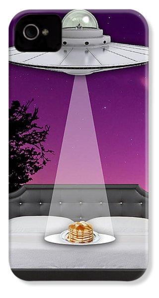 Breakfast In Bed IPhone 4 Case
