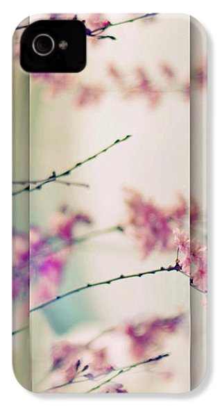 IPhone 4 Case featuring the photograph Breezy Blossom Panel by Jessica Jenney