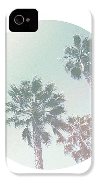 Breezy Palm Trees- Art By Linda Woods IPhone 4 Case