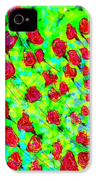 Bright IPhone 4 Case by Khushboo N