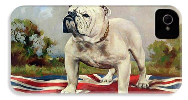 British Bulldog IPhone 4 Case by English School