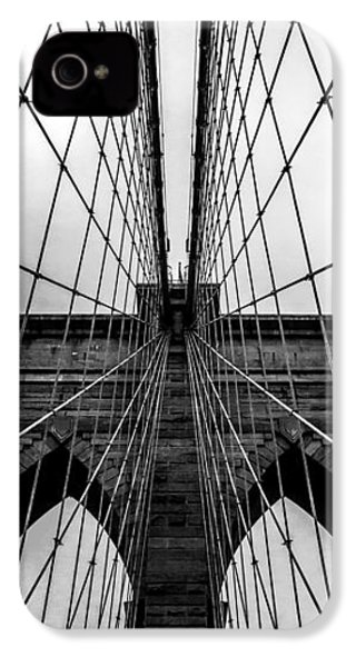 Brooklyn's Web IPhone 4 Case by Az Jackson