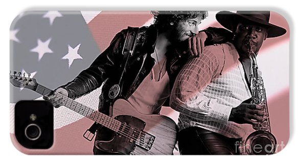 Bruce Springsteen Clarence Clemons IPhone 4 Case