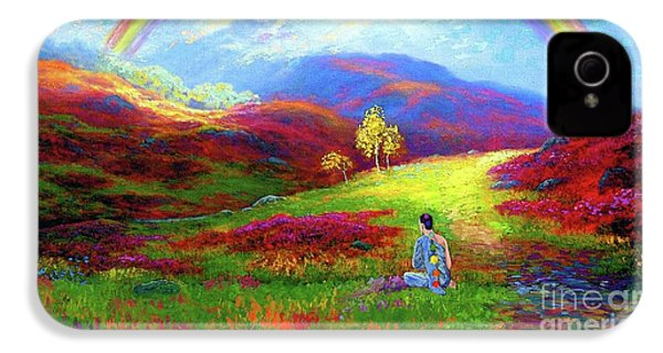 Buddha Chakra Rainbow Meditation IPhone 4 Case