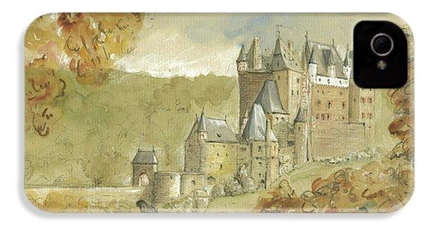Burg Eltz Castle IPhone 4 Case by Juan Bosco