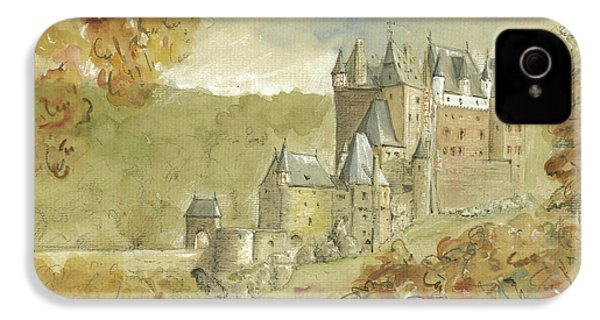 Burg Eltz Castle IPhone 4 Case by Juan Bosco