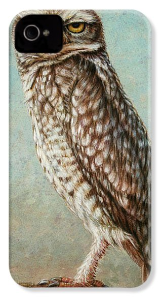 Burrowing Owl IPhone 4 Case