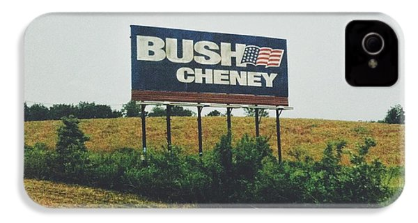 Bush Cheney 2011 IPhone 4 Case by Dylan Murphy
