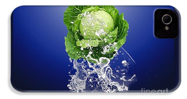 Cabbage Splash IPhone 4 Case by Marvin Blaine
