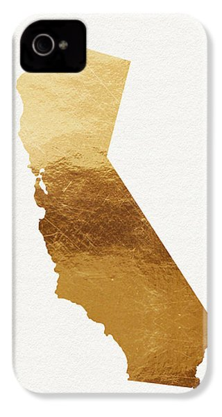 California Gold- Art By Linda Woods IPhone 4 Case