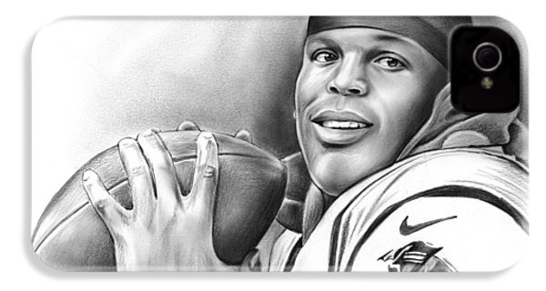Cam Newton IPhone 4 / 4s Case by Greg Joens
