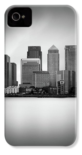Canary Wharf II, London IPhone 4 Case by Ivo Kerssemakers
