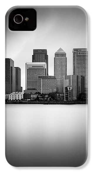 Canary Wharf II, London IPhone 4 / 4s Case by Ivo Kerssemakers