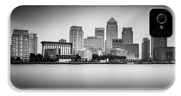 Canary Wharf, London IPhone 4 Case by Ivo Kerssemakers