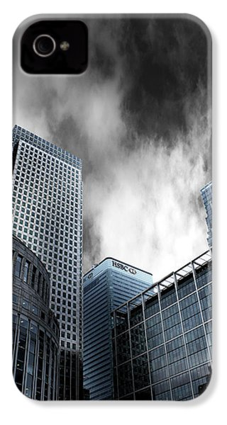Canary Wharf IPhone 4 Case by Martin Newman