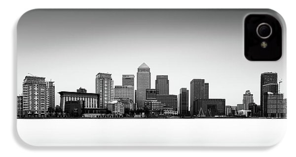 Canary Wharf Skyline IPhone 4 Case by Ivo Kerssemakers