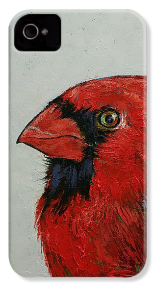 Cardinal IPhone 4 / 4s Case by Michael Creese